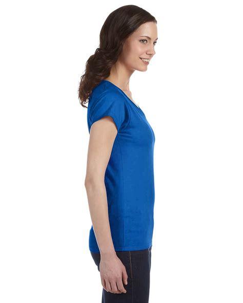 Kaos Junior Tshirt Gildan Softstyle 2 gildan t shirt softstyle junior fit v neck