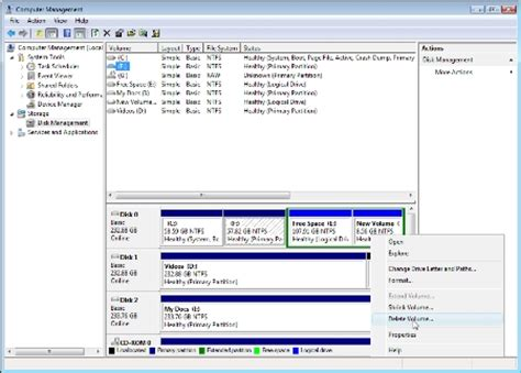 format hard drive computer management how to format a hard drive with vista