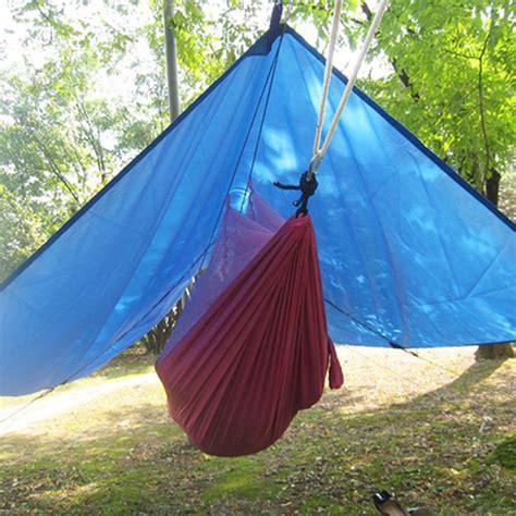 Large Outdoor Hammock Ultralight Outdoor Portable Hammock Awning Hanging Tent