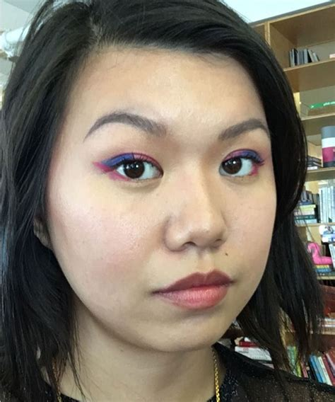 new beauty trends fashionable makeup looks refinery29 new makeup trends glitter dotted neon photos