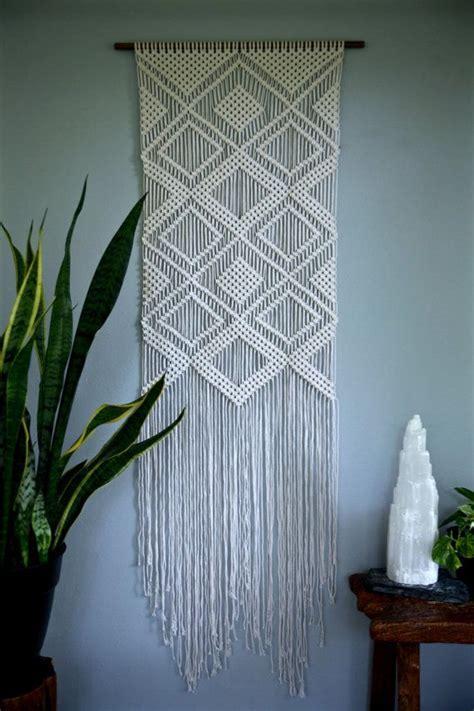 Macrame Work Patterns - 25 best ideas about macrame wall hangings on