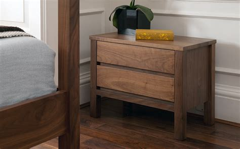 Wood Bedside Drawers Wooden Bedside Drawers Bed Company