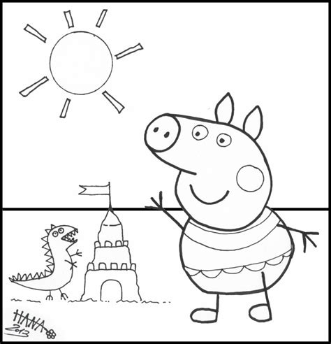 free coloring page peppa pig coloring pages free coloring pages of peppa and peppa pig