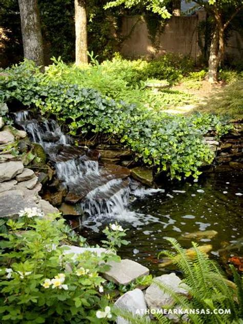 Waterfall Landscaping Ideas Beautiful Backyard Ideas And Garden Design Blending Classic And Styles