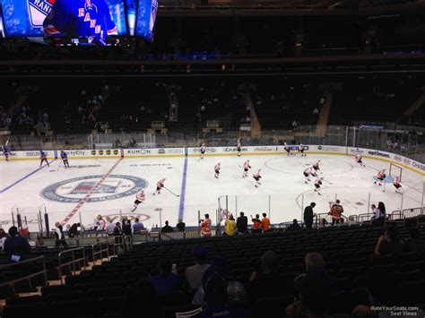 section 108 msg madison square garden section 108 new york rangers