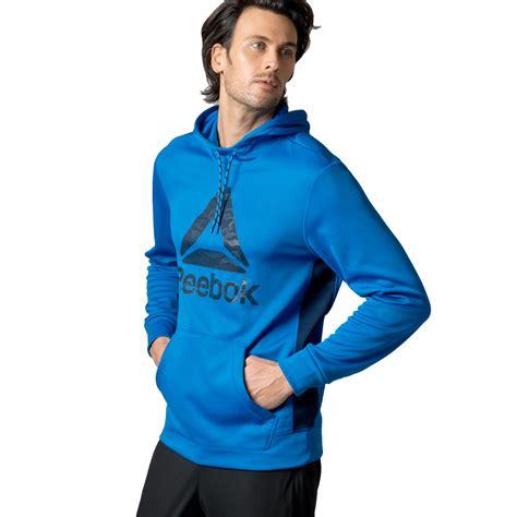 Sweater Reebok Reebok Mens Logo Hoodie Hoody Hooded Sweater
