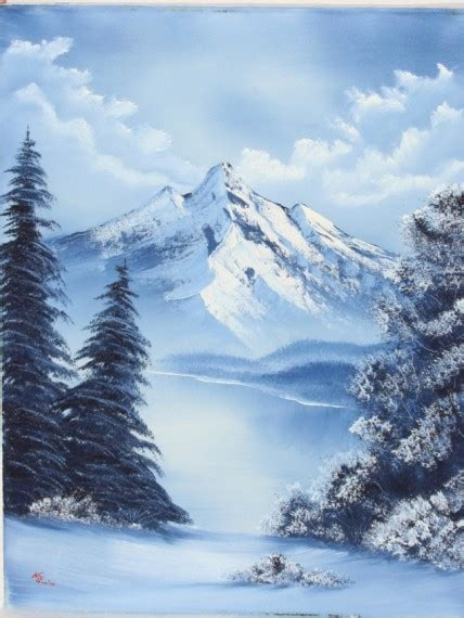 bob ross paintings winter bob ross scupp18