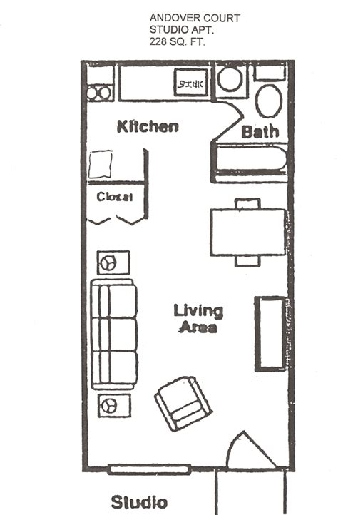 studio apartment floor plan studio apartment floor plans with dimensions pdf kotme