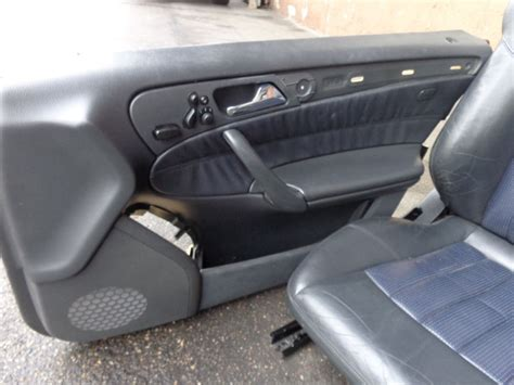 c32 amg interior mercedes w203 c class c30 c32 amg leather seats trim nappa