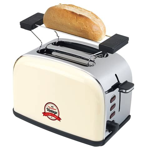 Bun Toaster bestron toaster with bun warmer 1050 w ivory ats100re