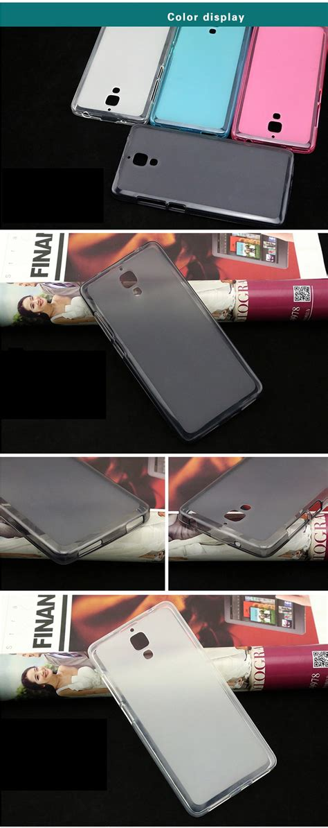 Hog Tpu For Xiaomi Mi4 Black high quality durable protective silicon for