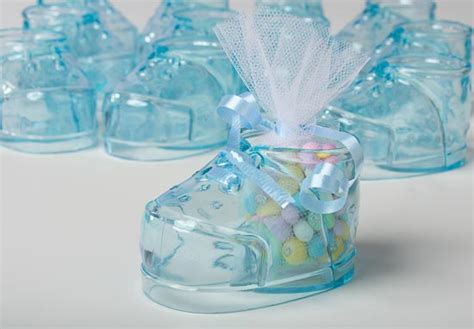 Blue For Boy Baby Shower by Blue Baby Bootie Favors It S A Boy Theme Baby Shower