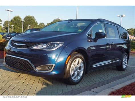 Chrysler Blue by 2017 Jazz Blue Pearl Chrysler Pacifica Touring L