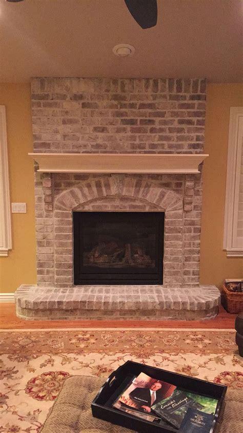 chalk paint brick fireplace sloan chalk paint sloan and the brick on