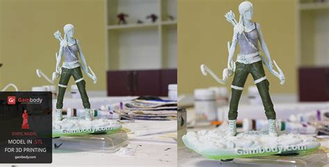 Painting 3d Printed by 3d Printed And Painted Lara Press Release By
