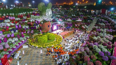 florist jobs in dubai world s largest floral mickey mouse in dubai miracle