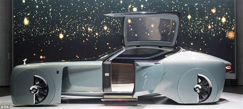 rolls royce 103ex rolls royce unveils its driverless car of the future