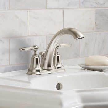 bathroom faucets costco kohler bellwood 4 quot centerset bathroom faucet