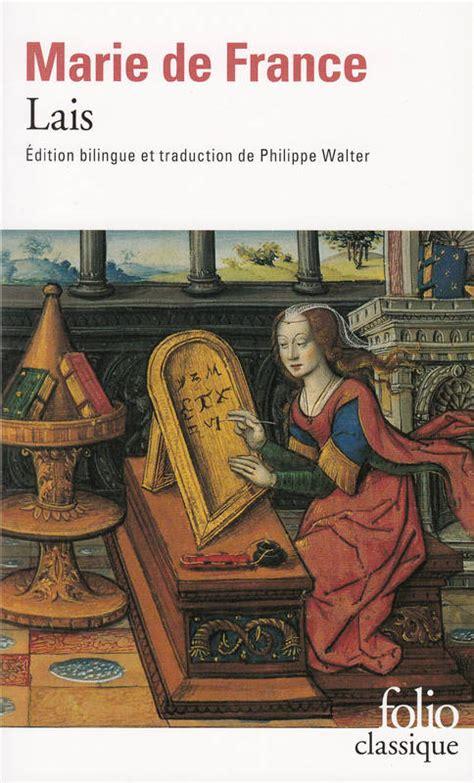 libro lais le livre de livre lais marie de france folio folio classique 9782070405435 librairie dialogues