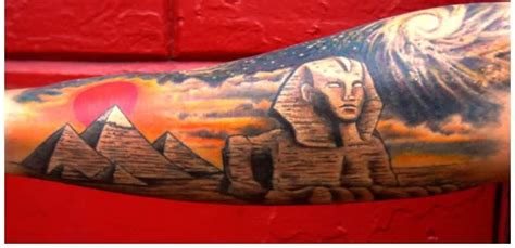 egyptian pyramid tattoo the world tattoos with meanings