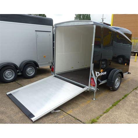 cargo box trailer debon cargo 1300 box trailer with r barn door