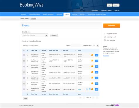 booking system by criticalgears codecanyon