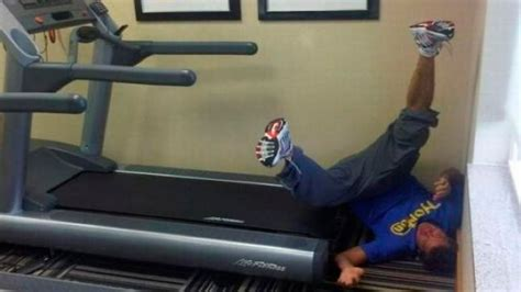 Treadmill Meme - image gallery treadmill faceplant