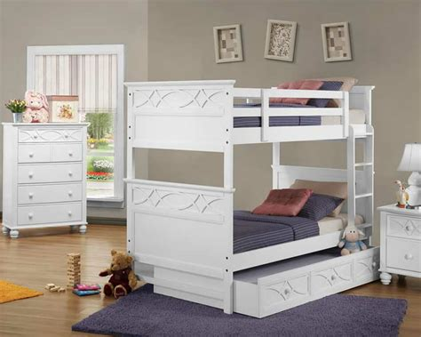White Bunk Bed Ladder White Bunk Beds With Trundle And Ladder Loft Bed Design Stylish White Bunk Beds With Trundle