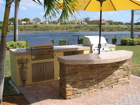 outdoor island kitchen wonderful backyard bars designs concept enhancing natural