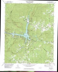 lake lure carolina map lake lure topographic map nc usgs topo 35082d2