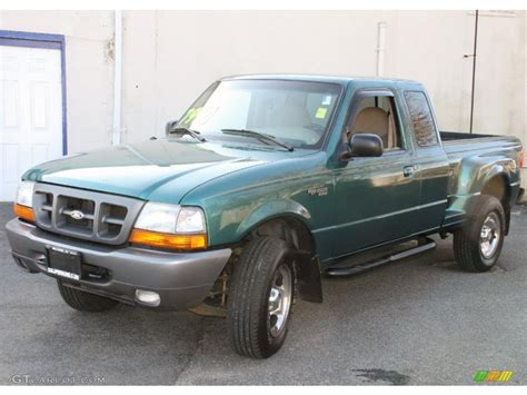 1998 pacific green metallic ford ranger xlt extended cab 4x4 26881318 gtcarlot car