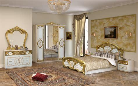 schlafzimmer ideen barock schlafzimmer rozza in wei 223 gold klassisch 160x200 cm
