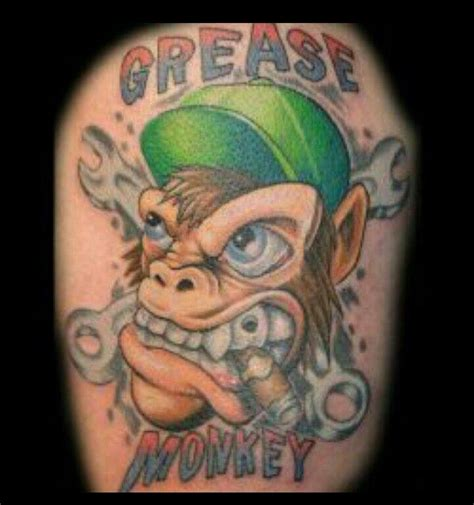 grease monkey tattoo pics for gt grease monkey