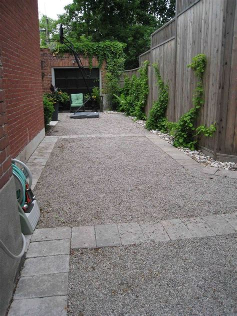 pea gravel driveway driveway solutions pinterest