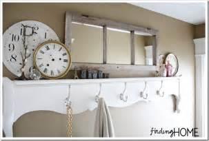 Bathroom decorating ideas footboard towel rack finding home farms