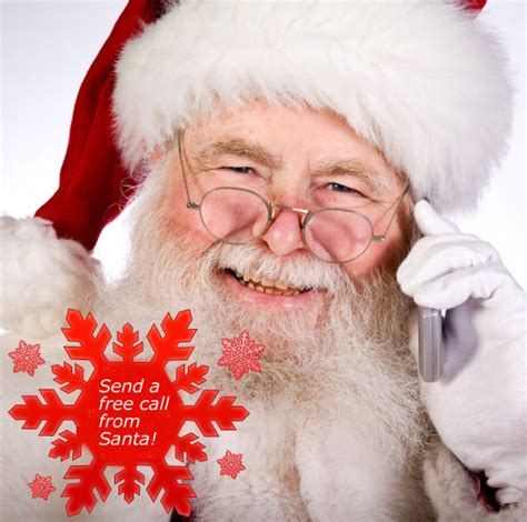 call santa send a free personalized phone call from santa claus