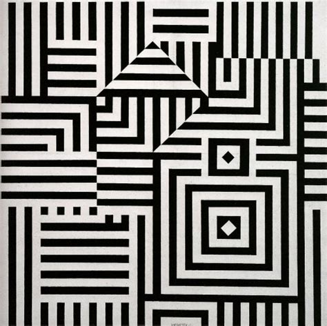 op art pattern names riu kiu c 1960 victor vasarely wikiart org