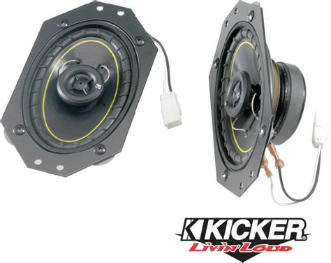 Best Speakers For A Jeep Wrangler Kicker Kwf 9702 Kicker Factory Replacement Front Dash