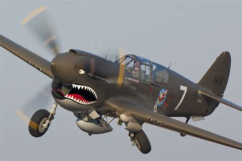 Photo of the Week: Curtiss P-40 Warhawk - Tally One P 40 Warhawk