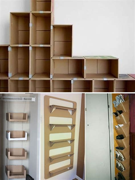 cara membuat lemari dari kardus bekas 50 cara membuat kerajinan tangan dari kardus bekas