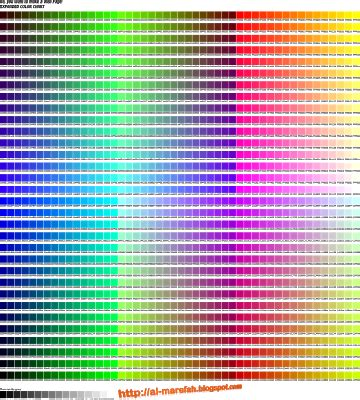 the color code test html color code test