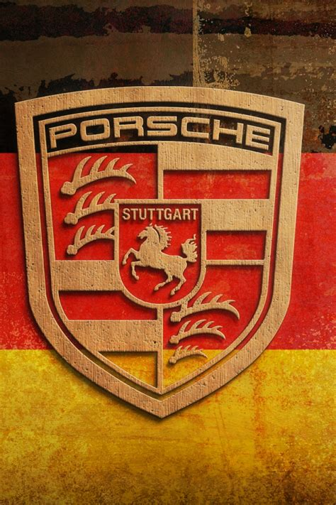 porsche logo wallpaper iphone 640x960 plywood porsche logo iphone 4 wallpaper