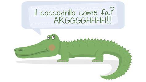 coccodrillo come fa testo il coccodrillo come fa canzoni e filastrocche per bambini