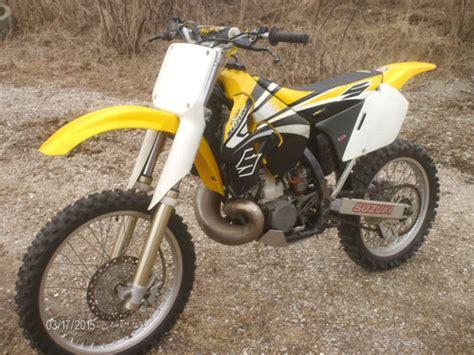 Suzuki Dirt Bikes 250 1998 Suzuki Rm 250 Motocross 2 Stroke Dirt Bike