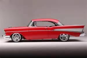 1957 chevy rides on an morrison independent chassis