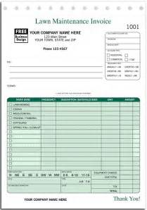lawn service invoice template landscaping invoice template rabitah net