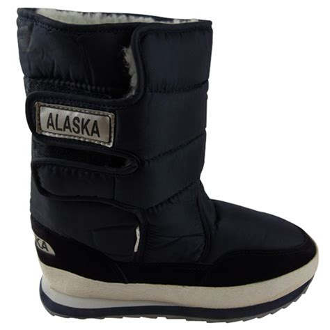 mens moon boots uk mens boys shearling snow quilted thermal warm winter boot