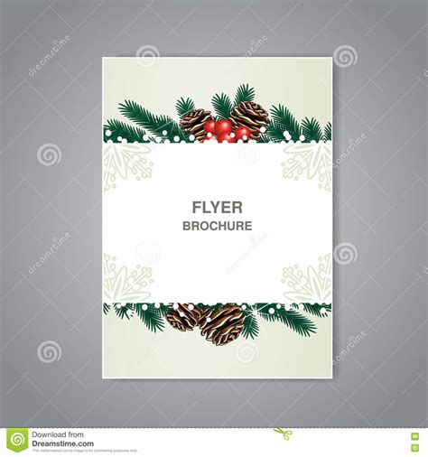 christmas brochure templates free 2 best agenda templates