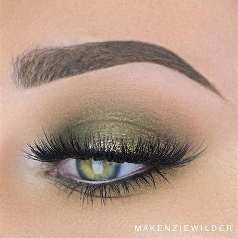 light smokey eye for green 31 pretty eye makeup looks for green page 3 of 3