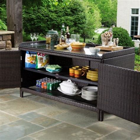 Patio Buffet Server by Sideboards Amazing Outdoor Buffet Server Outdoor Buffet